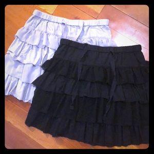 Old Navy Ruffle Skirts